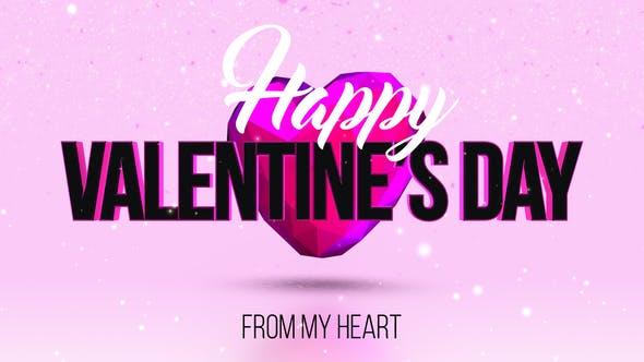 Videohive Valentines Day 23216212