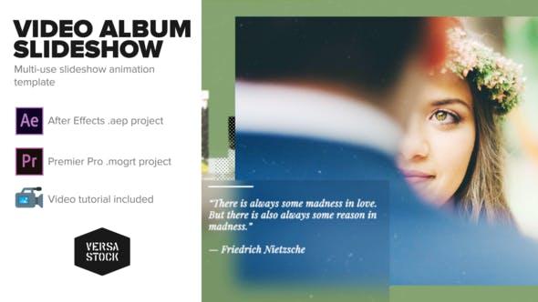 Videohive Video Album Slideshow 22023322