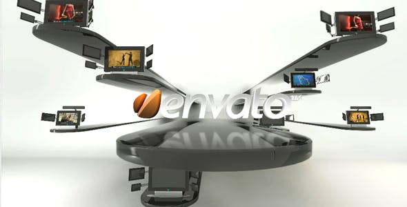 Videohive Video Displays in Motion 237213