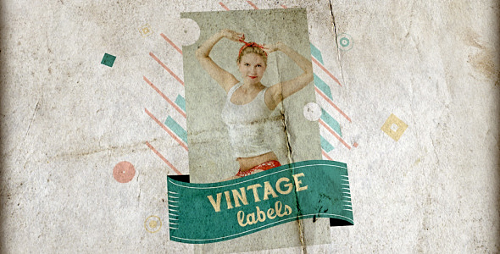 Videohive Vintage Labels 3 files 6032600
