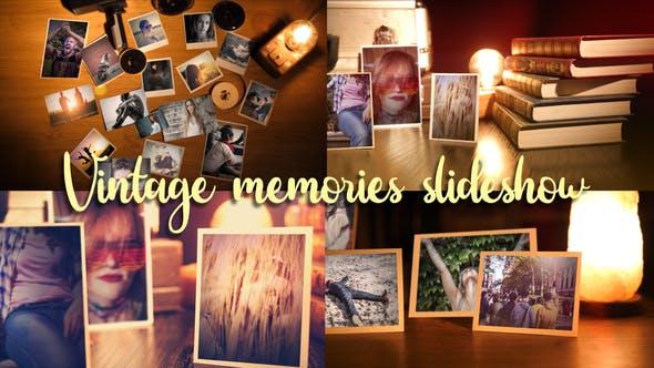 Videohive Vintage Memories Photo Slideshow 26512150