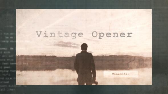 Videohive Vintage Opener 14666032
