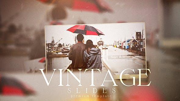 Videohive Vintage Slides 20096927