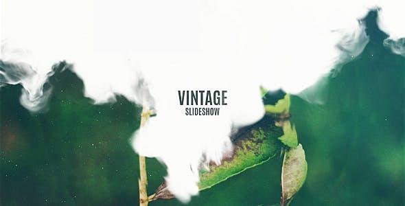 Videohive Vintage Slideshow - Smoke Effect 17419821