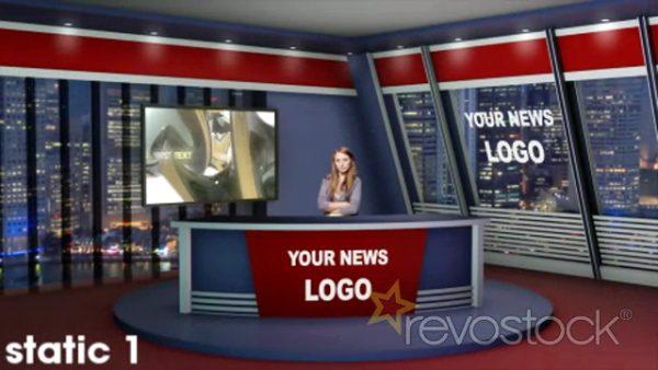 Videohive Virtual News