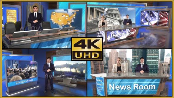 Videohive Virtual Studio Set - S01 28342309