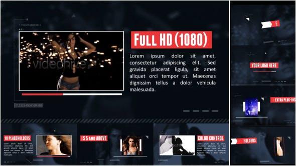 Videohive Visual Photo Futuristic Slider 7616632