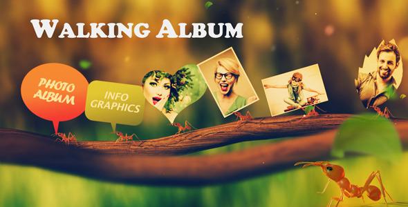 Videohive Walking Album 6663065