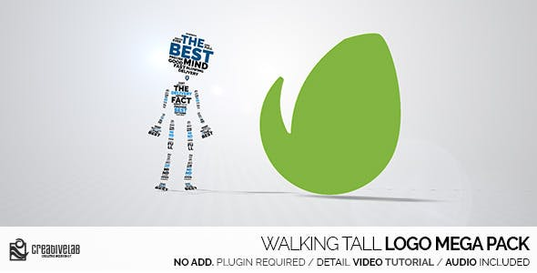 Videohive Walking Tall Logo Mega Pack 11759147