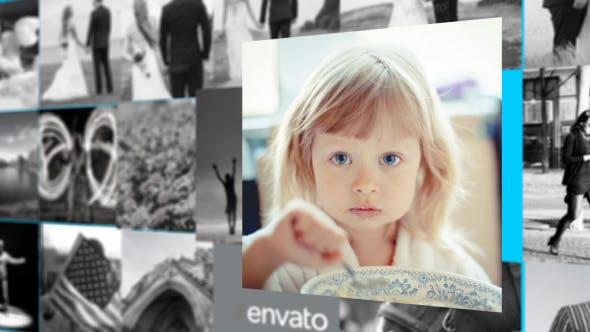 Videohive Wall Slideshow 10600021
