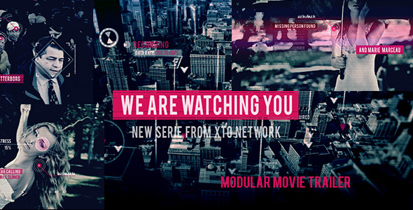 Videohive Watching You Movie Trailer 8541201