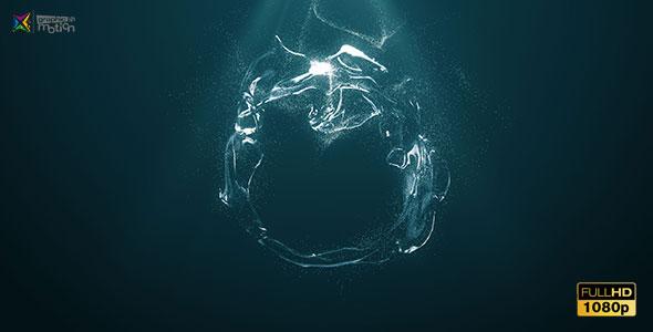 Videohive Water Logo 19529541