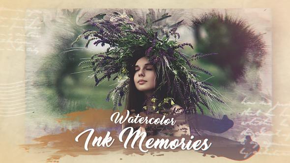 Videohive Watercolor Ink Memories 20690338
