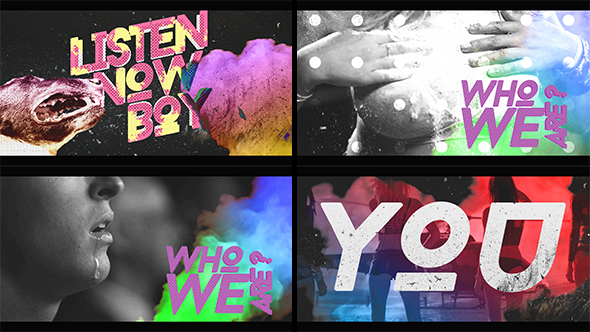 Videohive We Are Grunge Opener 19995335