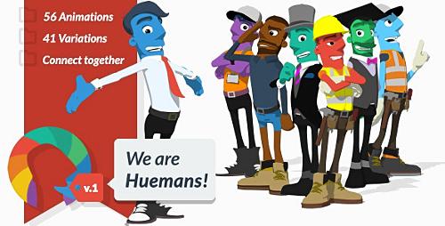 Videohive We are Huemans 12285126