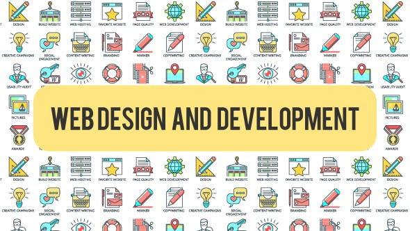 Videohive Web Design And Development - 30 Animated Icons 21303346