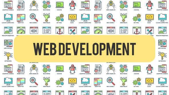 Videohive Web Development - 30 Animated Icons 21303332