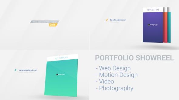 Videohive Web Portfolio 10016979