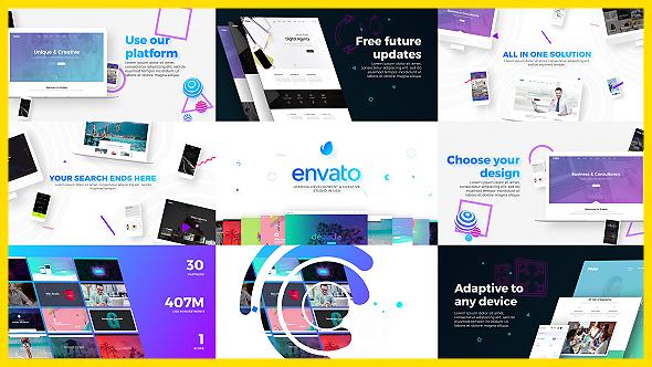 Videohive Website Design Development Agency Presentation 20725490