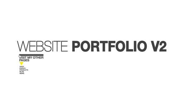 Videohive Website Portfolio v.2 5226233