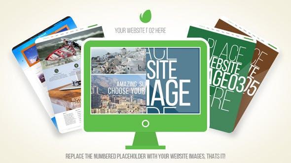Videohive Website Presentation 11445963