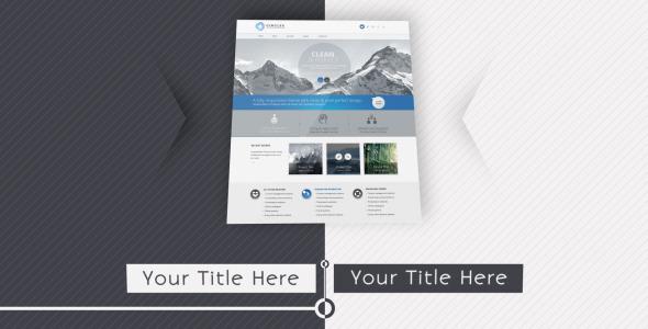 Videohive Website Presentation 2 6828785