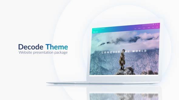 Videohive Website Presentation Pack 20478293