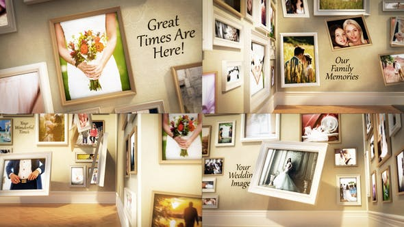 Videohive Wedding Family Wall Gallery 21621214