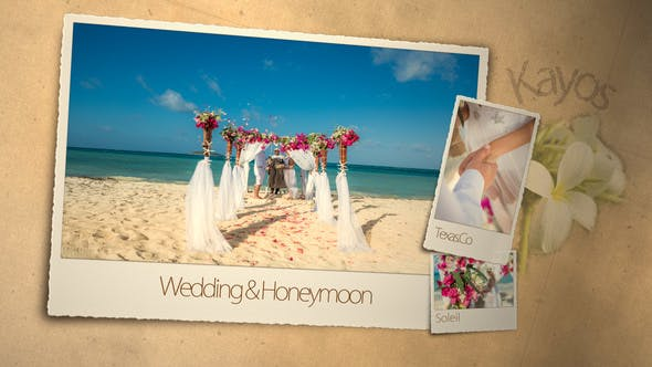Videohive Wedding Honeymoon 3101891