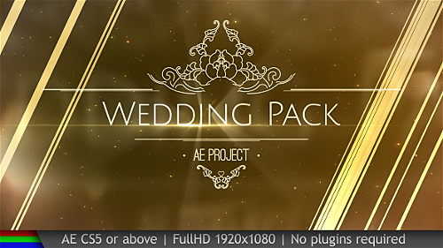 Videohive Wedding Pack 20038431