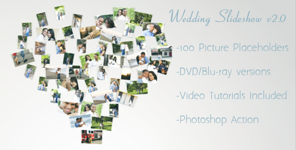 Videohive Wedding Slideshow v2.0