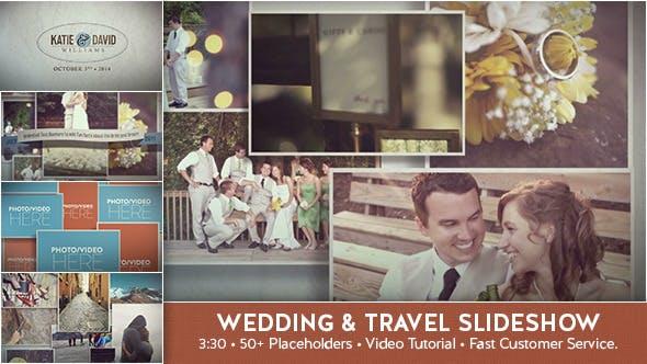 Videohive Wedding Travel Slideshow 9211660
