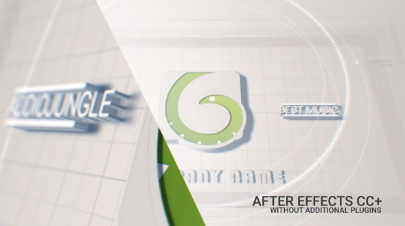 Videohive White Logo 20451384