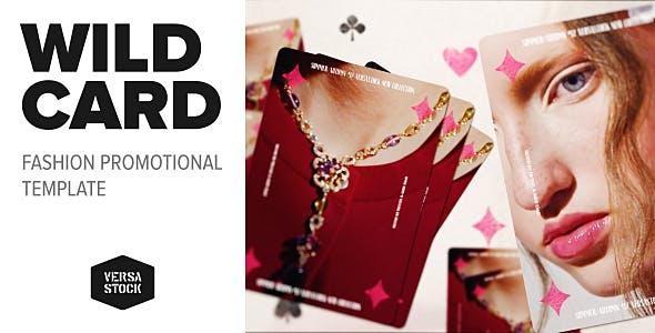 Videohive Wild Card Fashion Promo 20409131