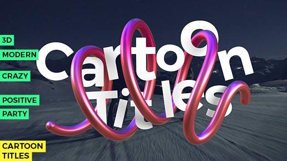 Videohive Winding Line - Cartoon Titles 20546719