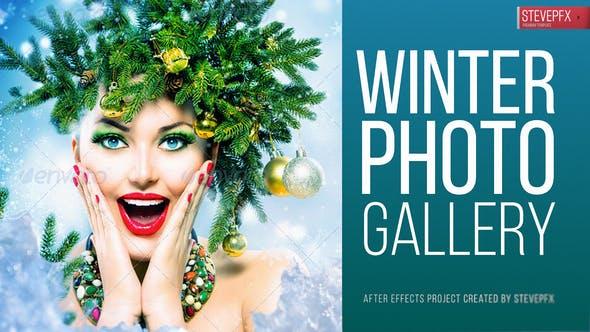 Videohive Winter Photo Gallery 18588405