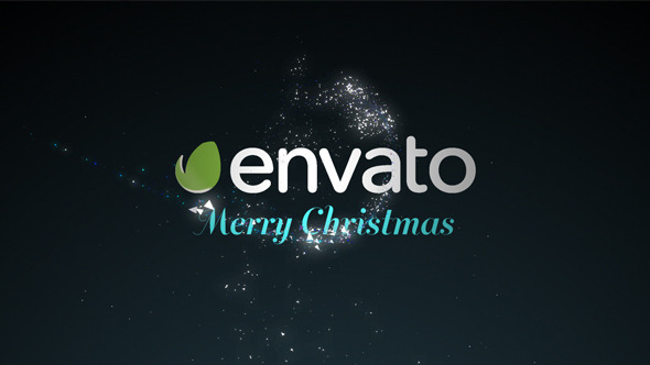 Videohive Wishing Star Particle Logo 9631348