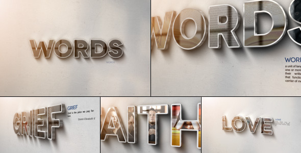 Videohive Words 4244177