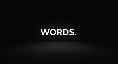 Videohive Words - Media Opener 19597037