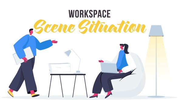Videohive Workspace - Scene Situation 27642975