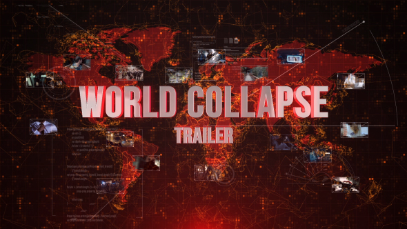 Videohive World Collapse Trailer 15421121