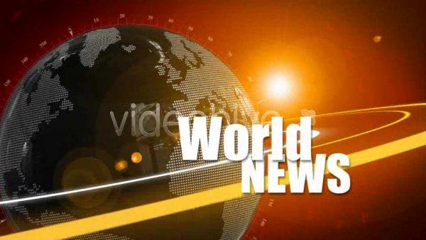 Videohive World News ID opener 76524