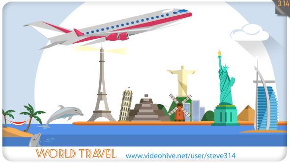 Videohive World Travel 20198020
