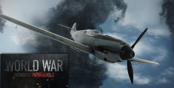 Videohive World War Broadcast Package Vol.2 15758420