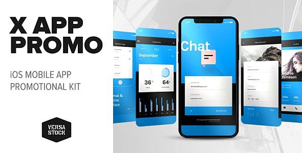 Videohive X Phone App Presentation 20744881