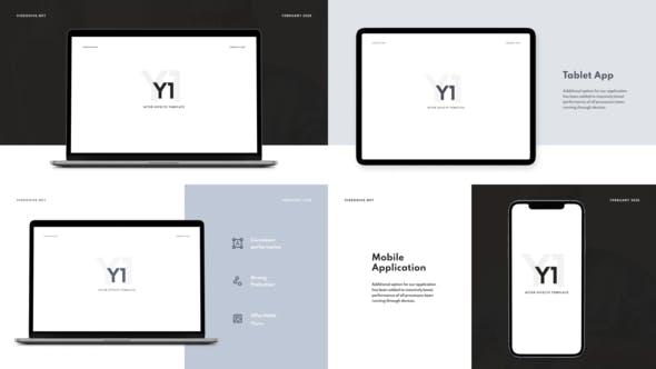 Videohive Y1 - Website Promo 25890025