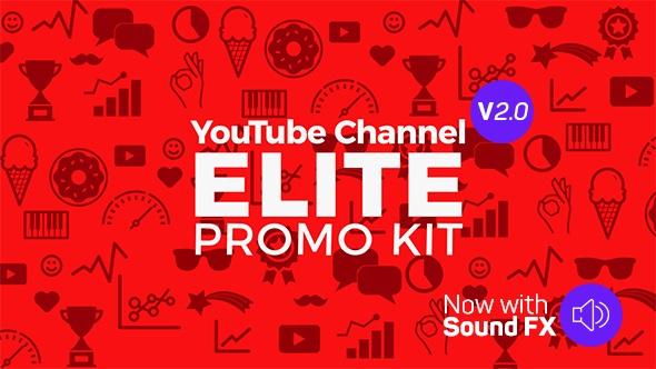 Videohive YouTube Promo Elite Kit v2.0 18459799