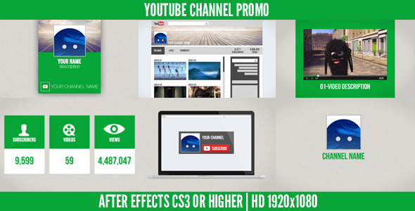 Videohive Youtube Channel Promo 6814990