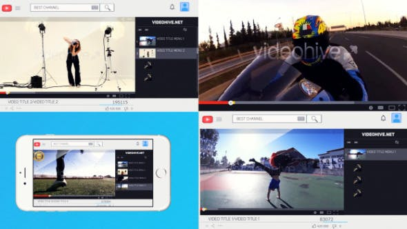 Videohive Youtube Channel Promotion 8731825