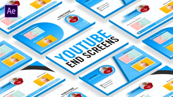 Videohive Youtube EndScreen 26784884